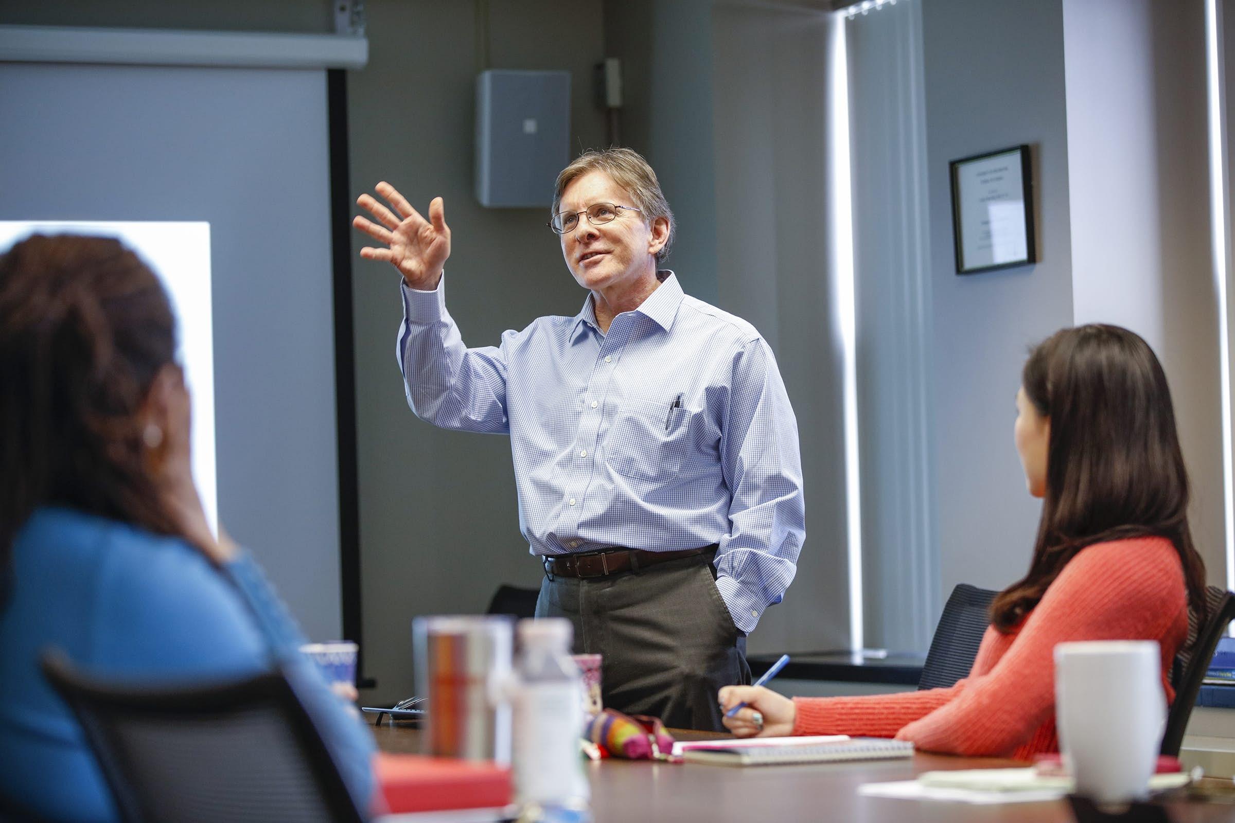 Jim McMahon Classroom