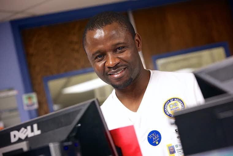 International Student in Nursing Uniform